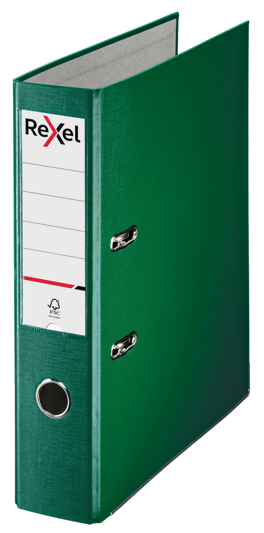 Lever Arch Files Rexel Lever Arch File ECO Polypropylene A4 75mm Spine Width Green (Pack 20)