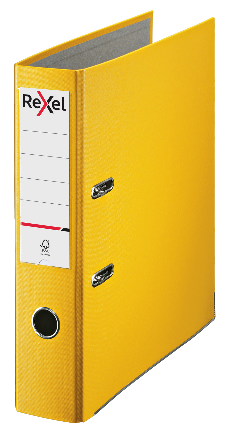 Lever Arch Files Rexel Lever Arch File ECO Polypropylene A4 75mm Spine Width Yellow