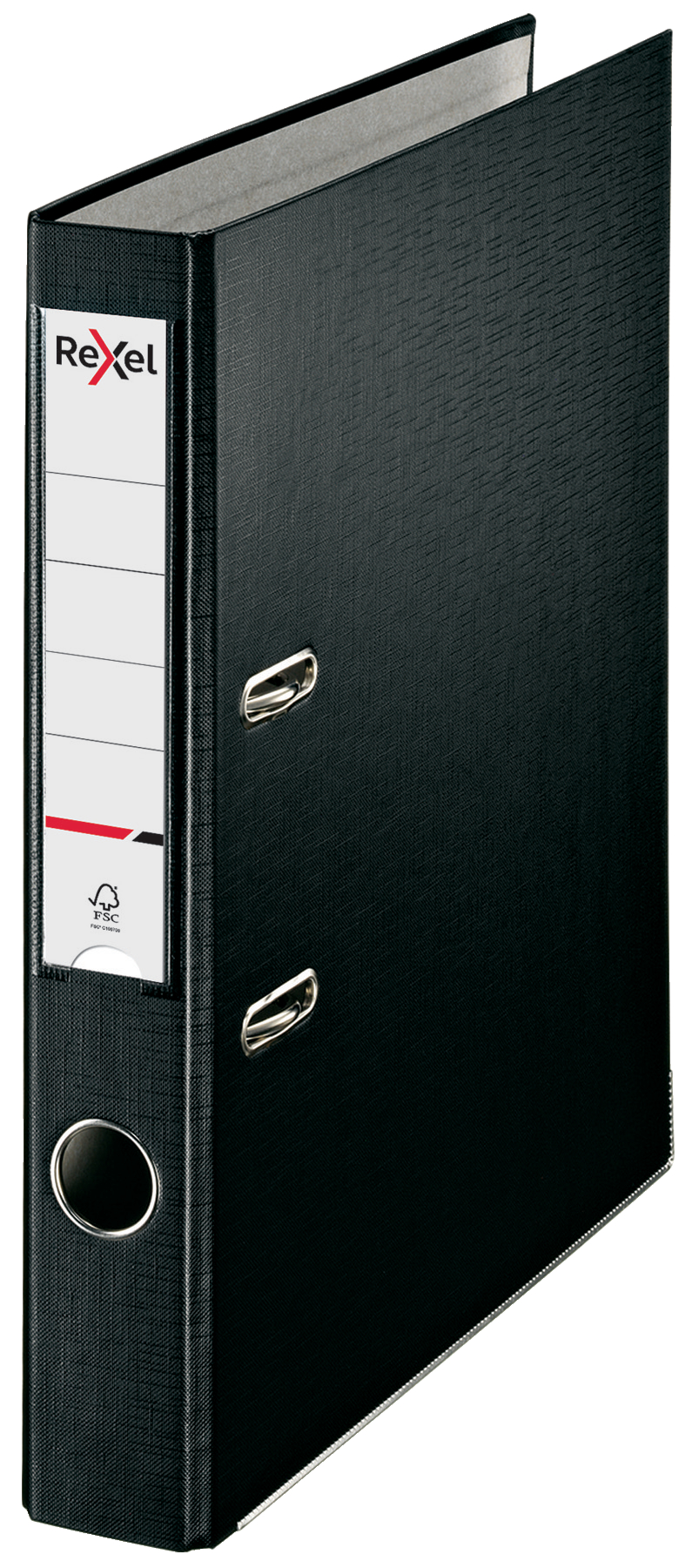 Lever Arch Files Rexel Lever Arch File ECO Polypropylene A4 50mm Spine Width Black (Pack 25)