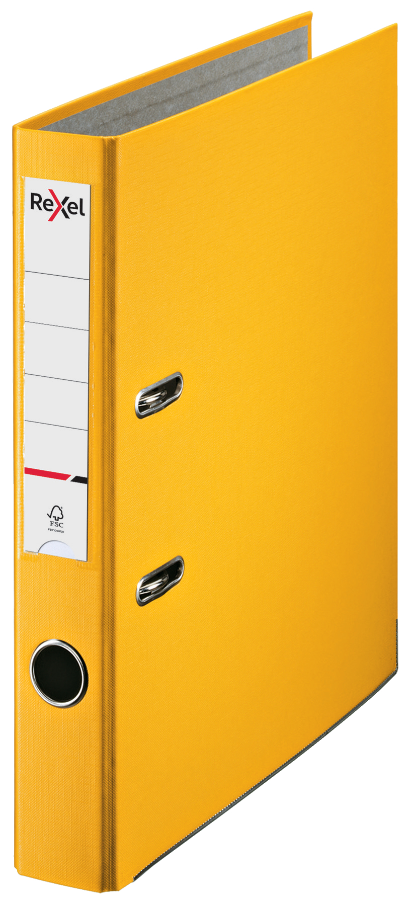 Lever Arch Files Rexel Lever Arch File ECO Polypropylene A4 50mm Spine Width Yellow
