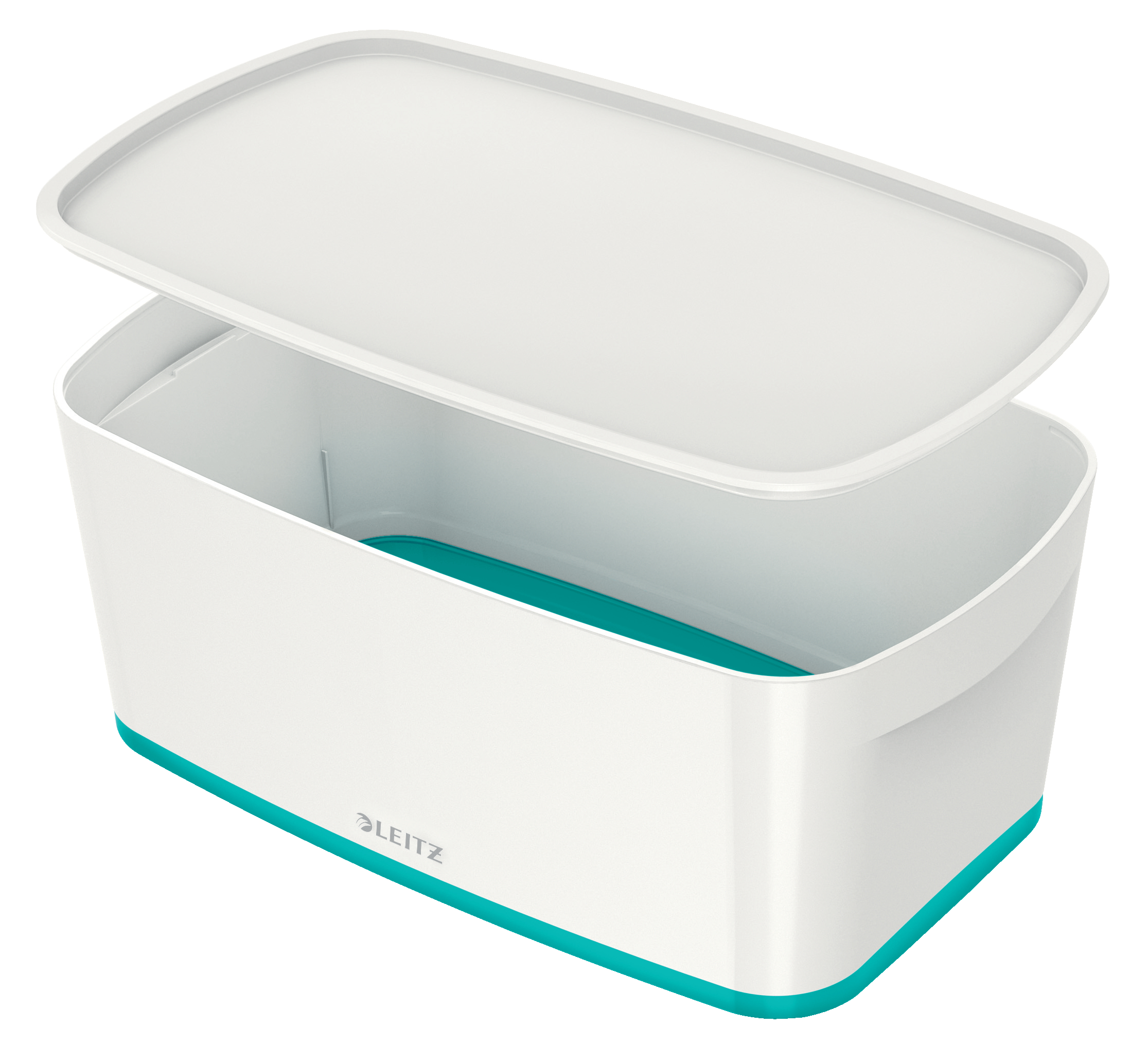 Tool Boxes Leitz MyBox Small with Lid WOW White Ice Blue