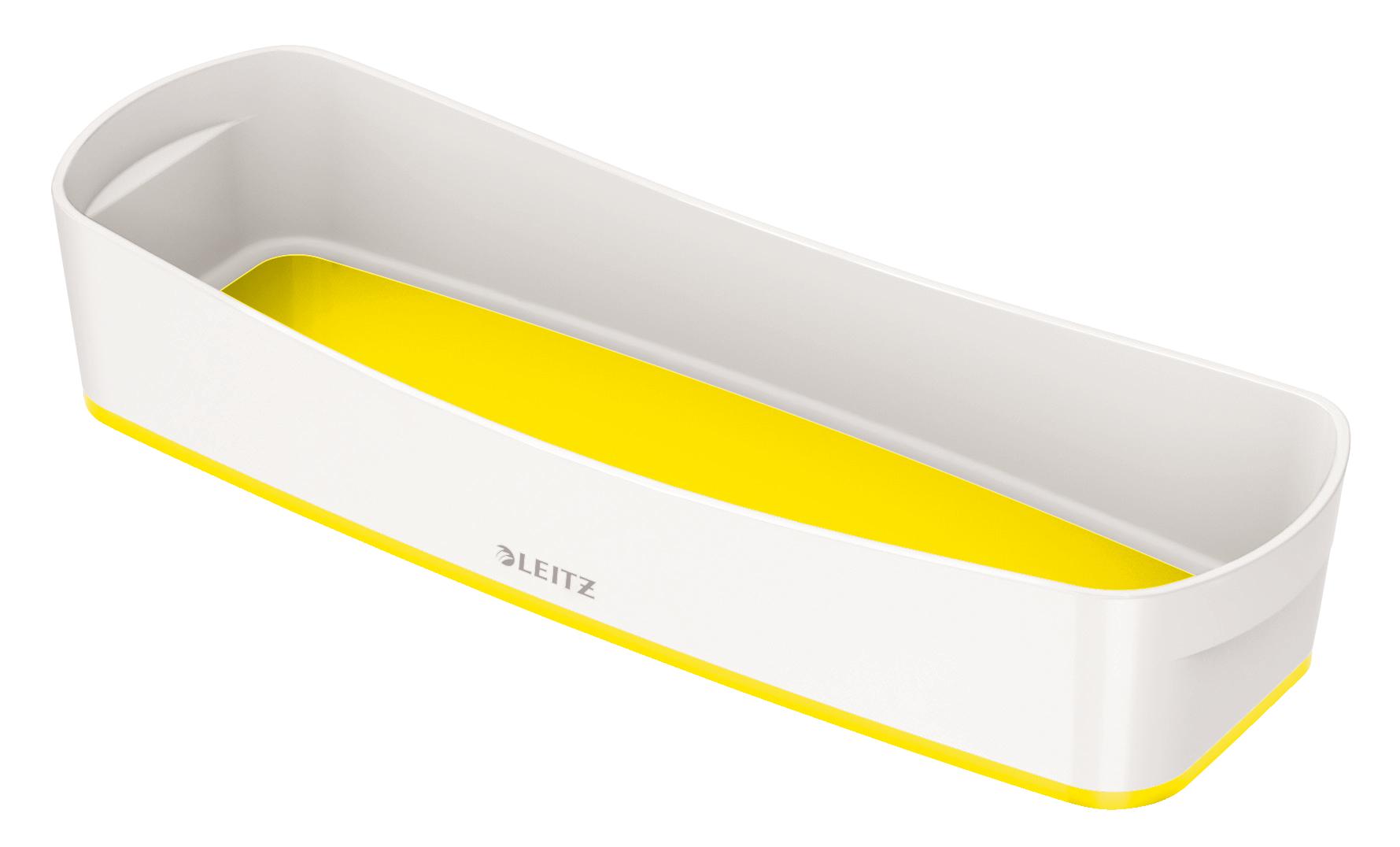 Tool Boxes Leitz MyBox Tray Organiser WOW White Yellow