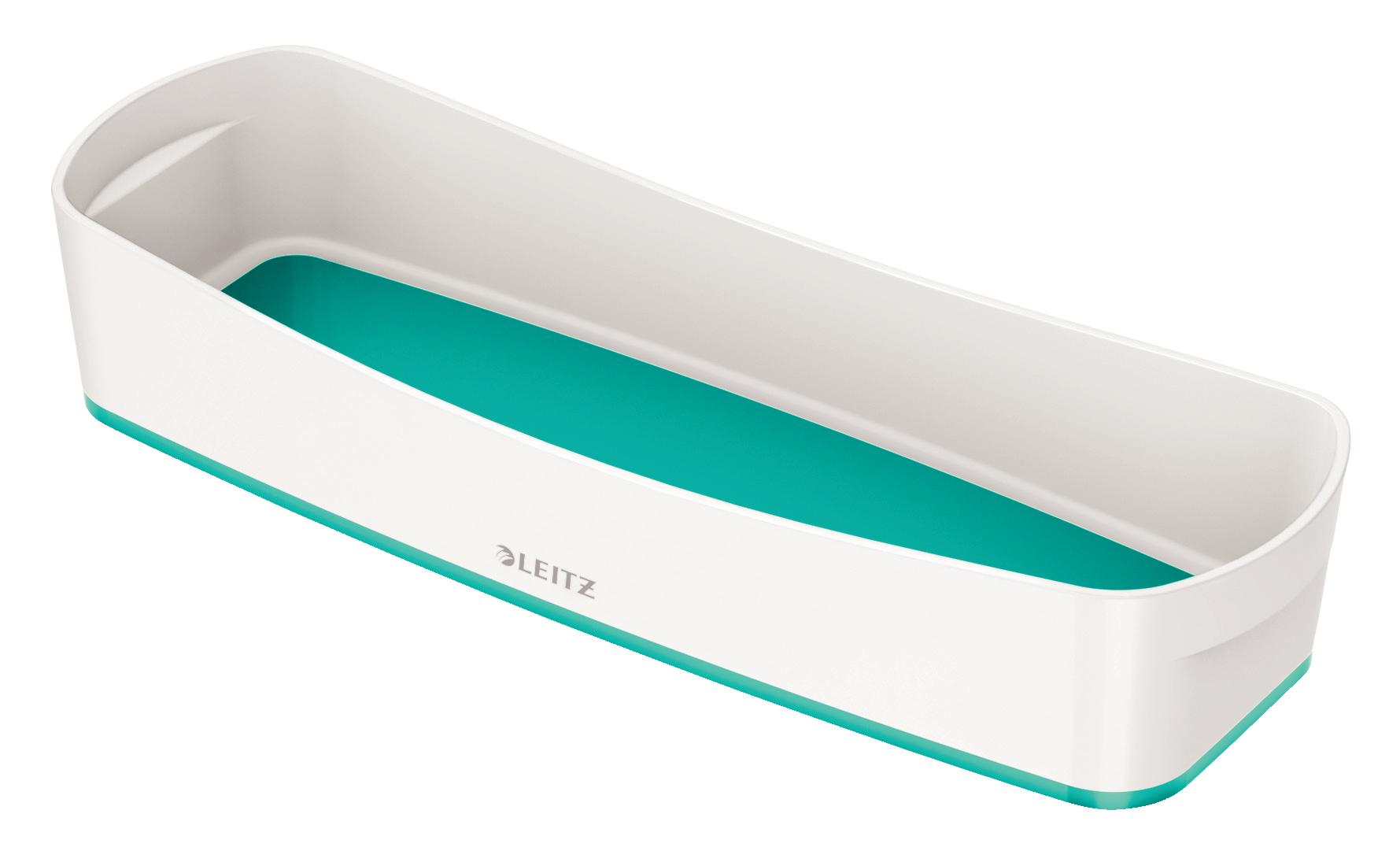 Tool Boxes Leitz MyBox Tray Organiser WOW White Ice Blue