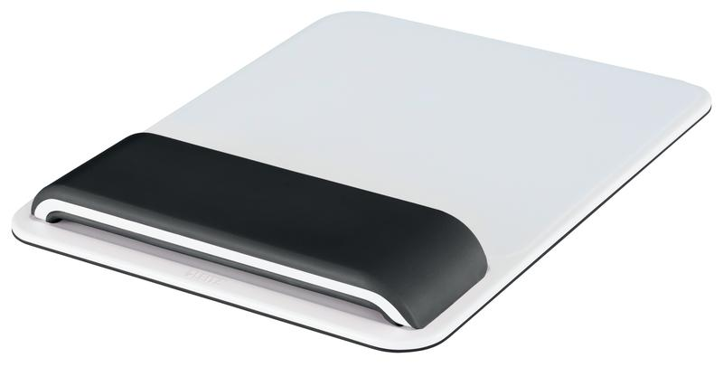 Leitz Ergo WOW Mouse Pad with Adjustable Wrist Rest Black
