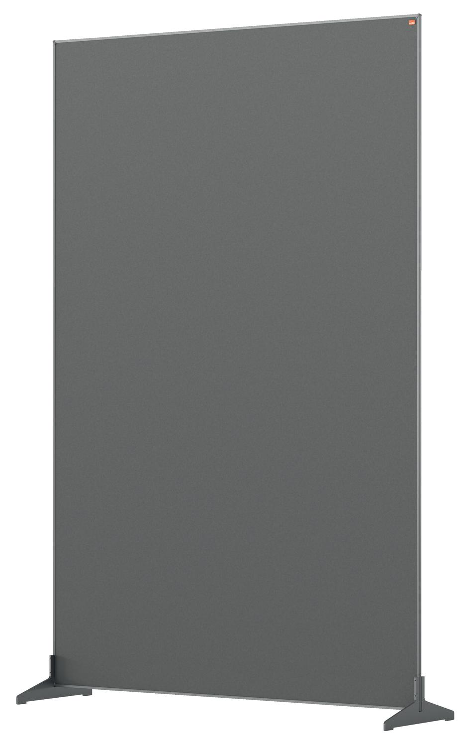 Straight Tops Nobo Impression Pro Floor Divider 1200x1800mm Grey