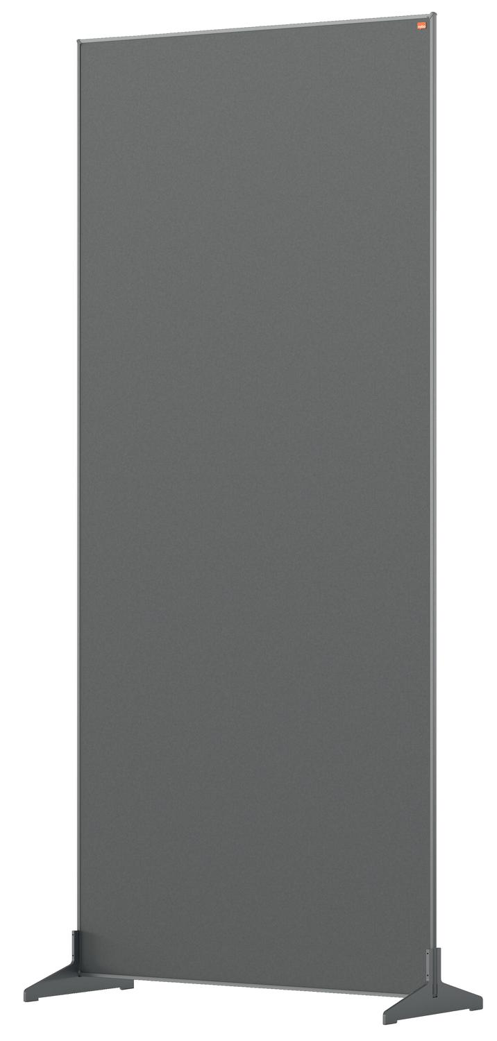 Straight Tops Nobo Impression Pro Floor Divider 800x1800mm Grey