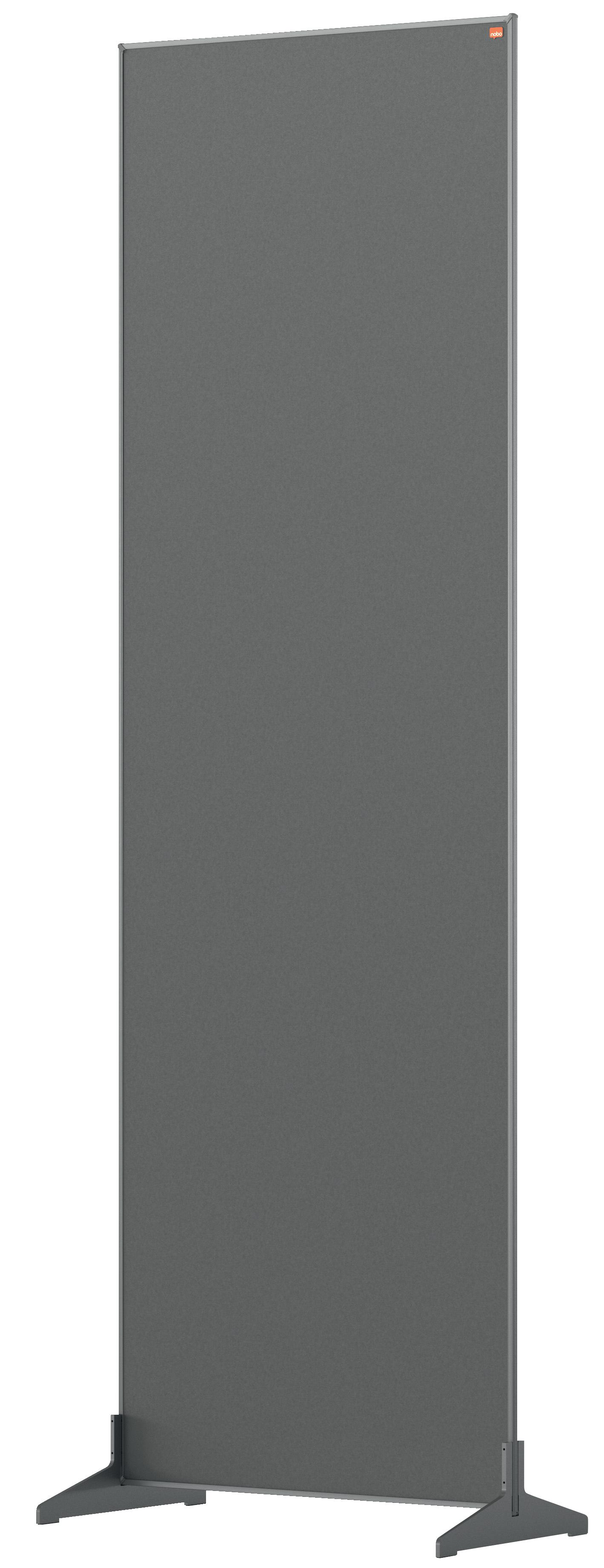 Straight Tops Nobo Impression Pro Floor Divider 600x1800mm Grey