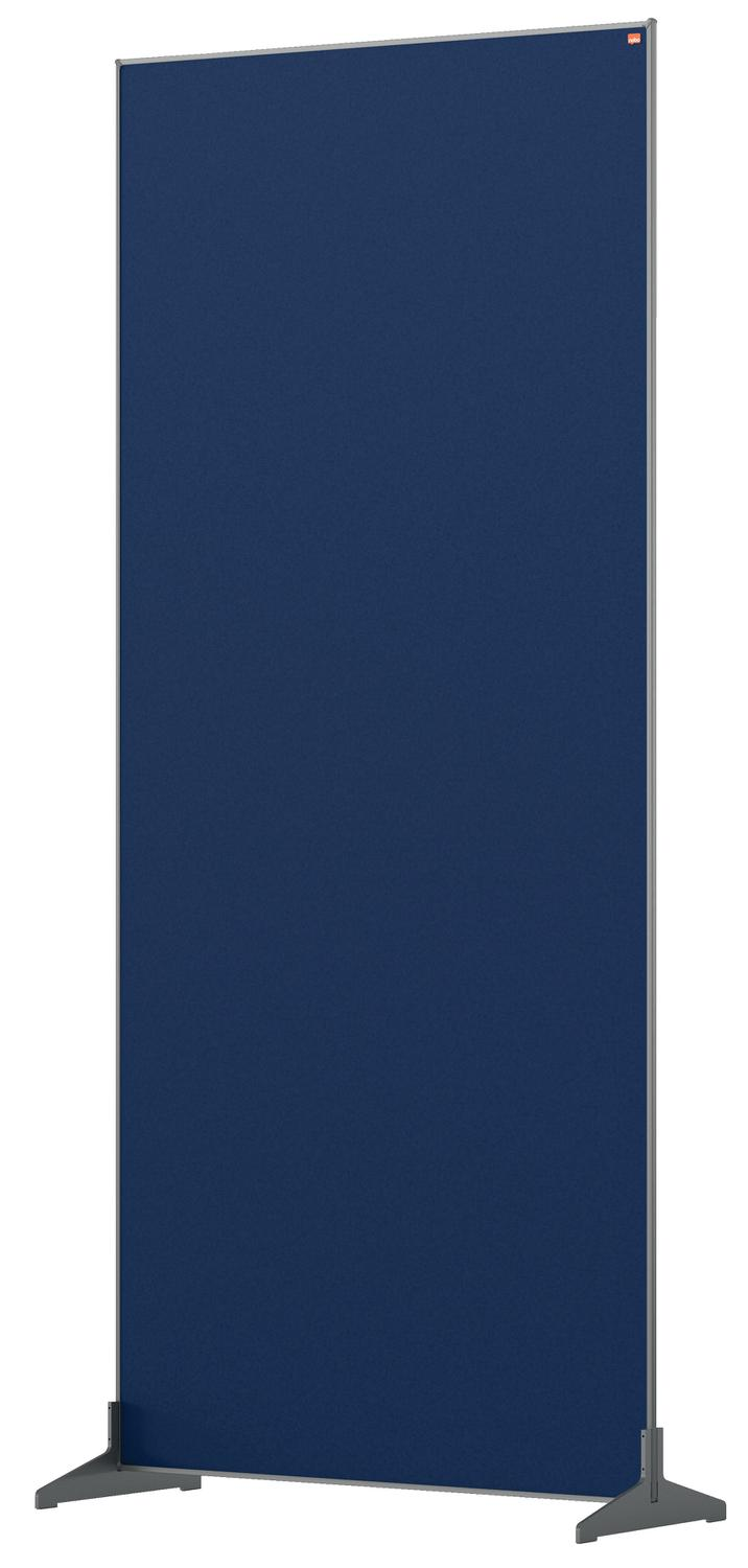 Straight Tops Nobo Impression Pro Floor Divider 800x1800mm Blue
