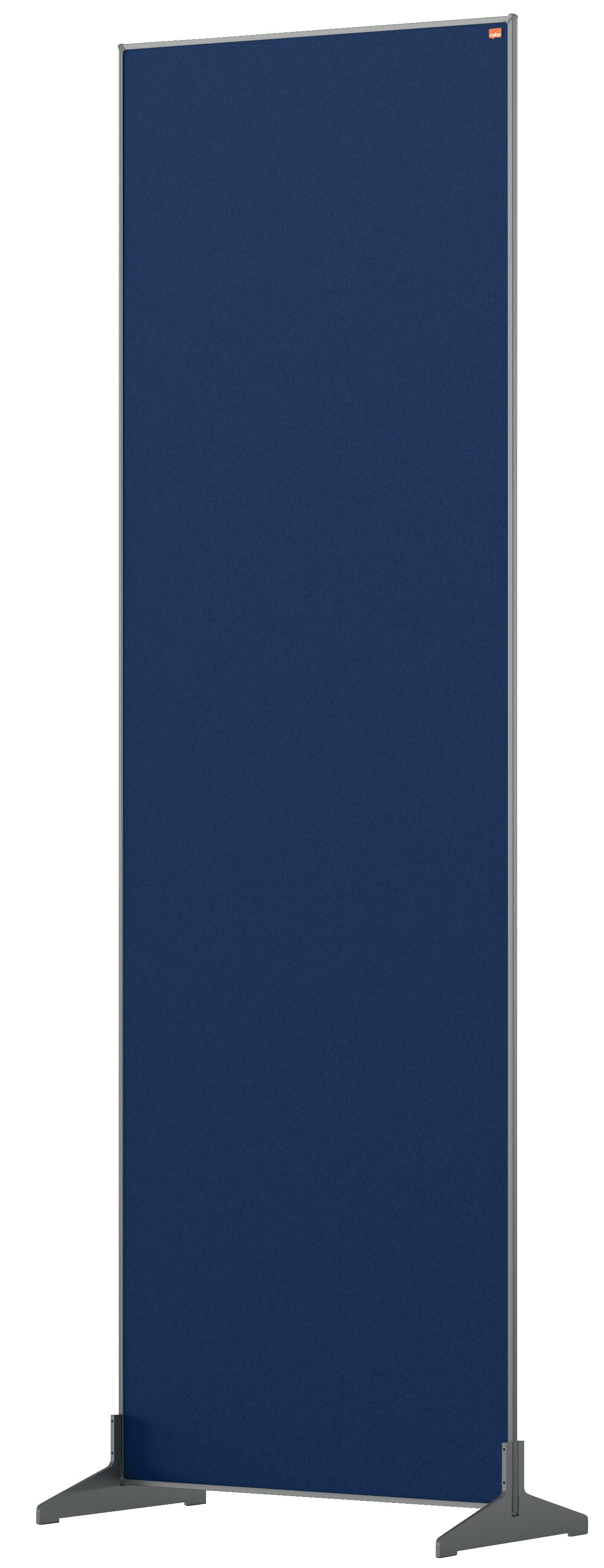 Straight Tops Nobo Impression Pro Floor Divider 600x1800mm Blue