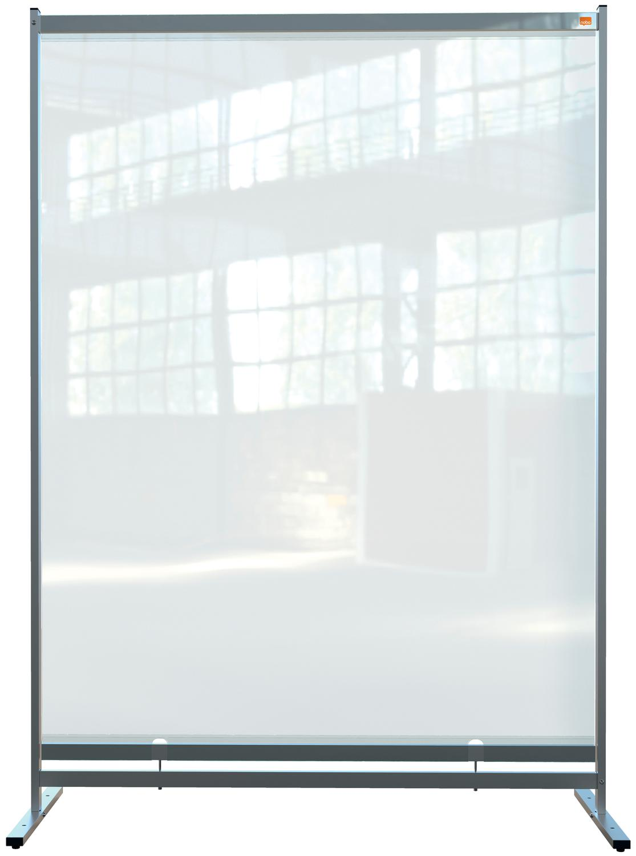 Straight Tops Nobo Prem PVC Free Stnd Prtctv Rm Dvdr Scrn 1480x2060mm