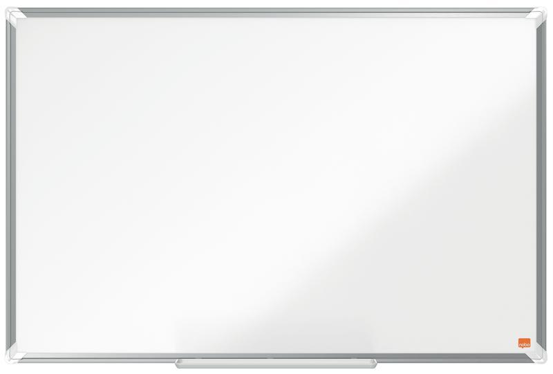 Magnetic Nobo Premium Plus Enamel Magnetic Whiteboard 900x600mm