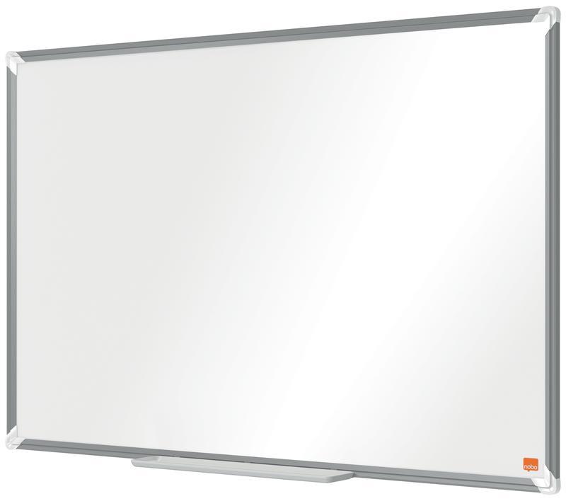 Magnetic Nobo Premium Plus Steel Magnetic Whiteboard 900x600mm