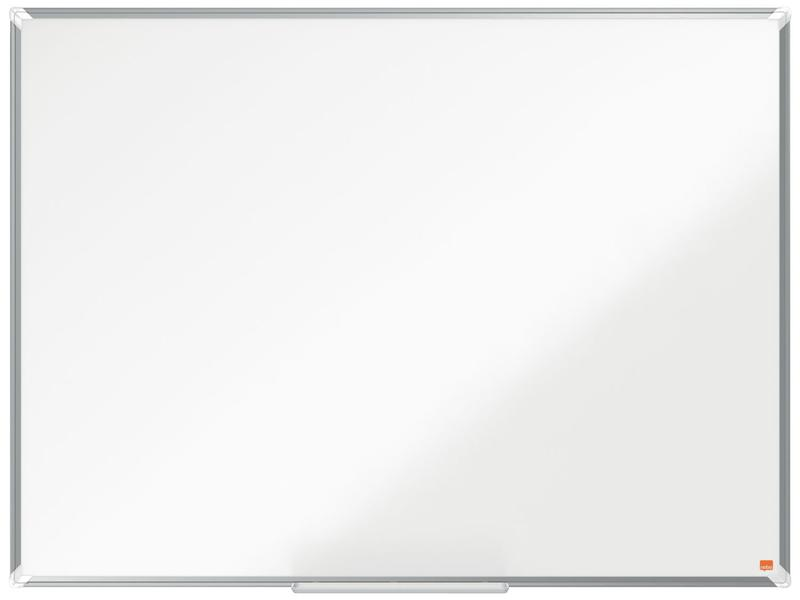 Magnetic Nobo Premium Plus Steel Magnetic Whiteboard 1200x900mm
