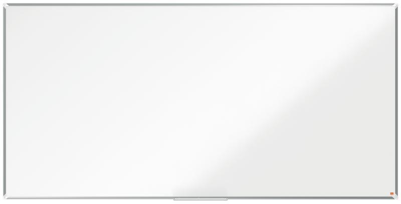 Magnetic Nobo Premium Plus Steel Magnetic Whiteboard 2400x1200mm