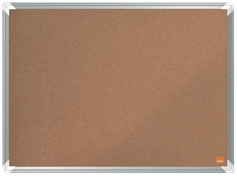 Cork Nobo Premium Plus Cork Notice Board 600x450mm