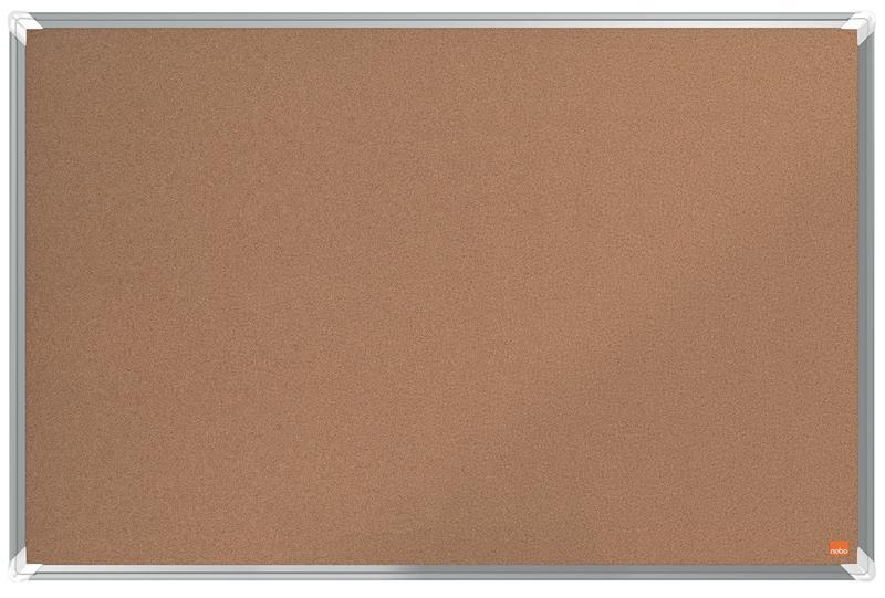 Cork Nobo Premium Plus Cork Notice Board 900x600mm