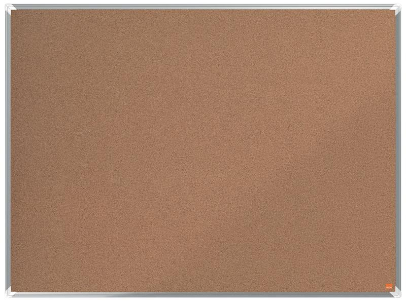 Cork Nobo Premium Plus Cork Notice Board 1200x900mm