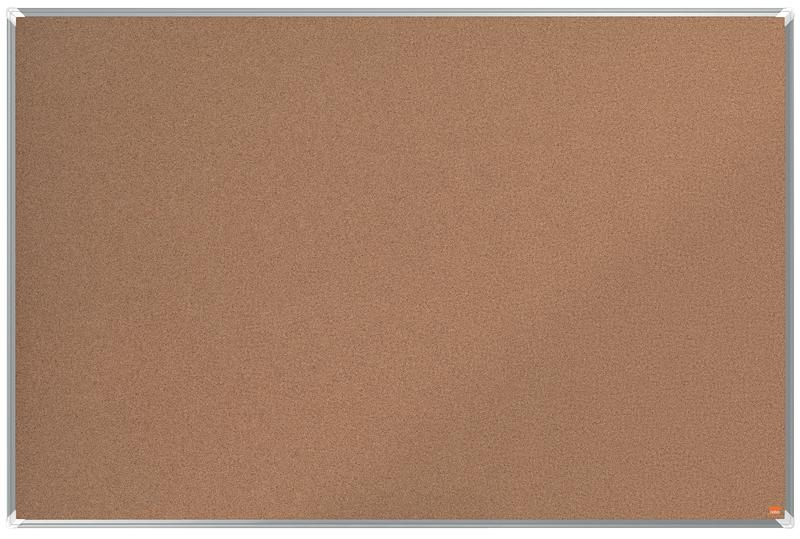 Cork Nobo Premium Plus Cork Notice Board 1500x1000mm