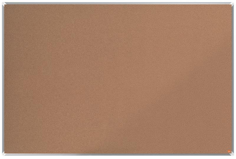 Cork Nobo Premium Plus Cork Notice Board 1800x1200mm