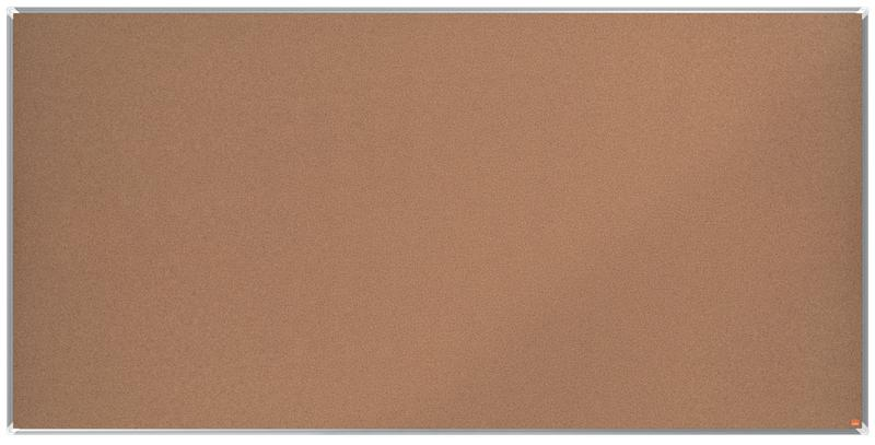 Cork Nobo Premium Plus Cork Notice Board 2400x1200mm