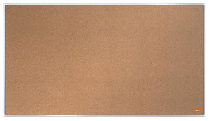 Cork Nobo Impression Pro Widescreen Cork Board 710x400mm