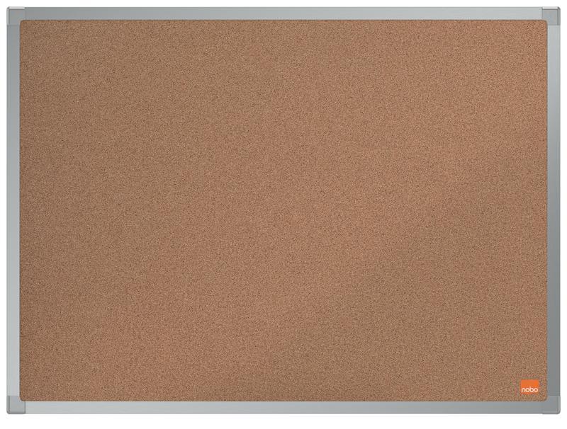 Cork Nobo Essence Cork Notice Board 600x450mm