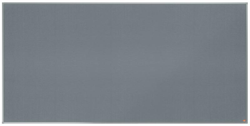 Felt Nobo Essence Grey Felt Notice Board 2400x1200mm