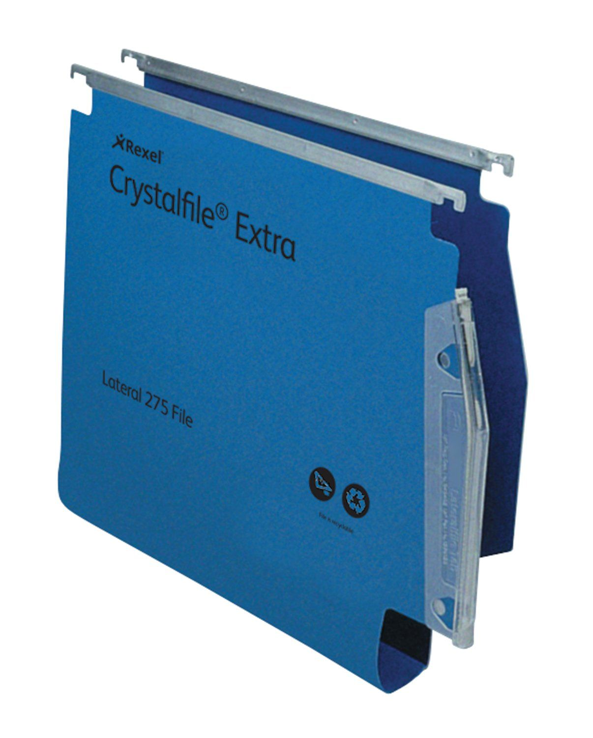 Twinlock Crystalfile Extra Lateral File PP 30mm Blue BX25