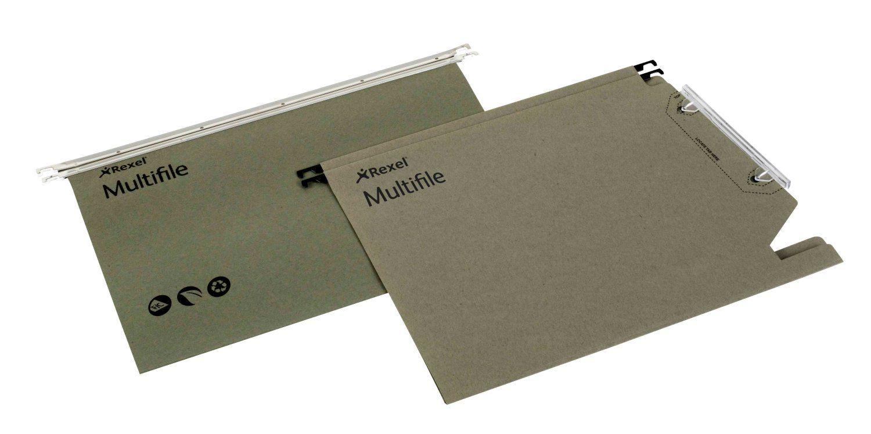 Rexel Multifile 330 Susp File GN PK50