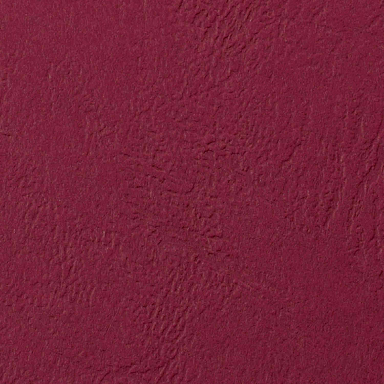GBC Binding Cover Leathergrain A4 250gsm Dark Red (Pack 100) CE040030