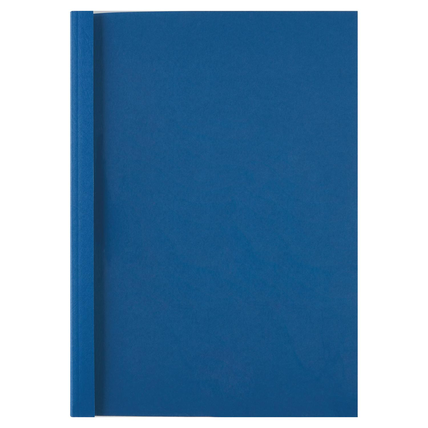 GBC A4 Thermal Binding Covers 3mm Royal Blue PK1000