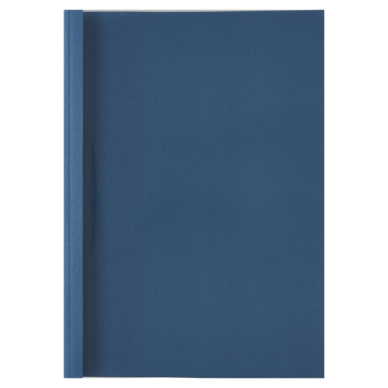 GBC A4 Thermal Binding Covers 4mm Royal Blue PK100