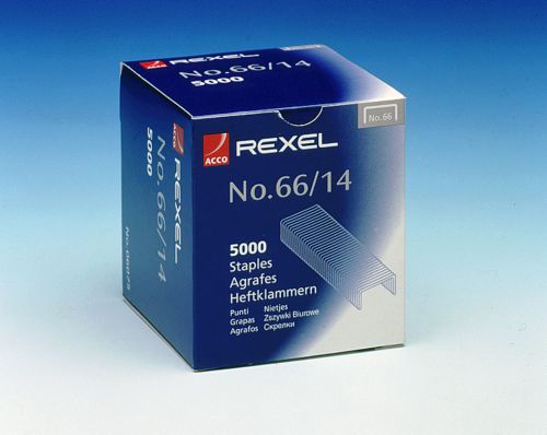 Rexel No66 Staples 14mm 06075 (PK5000)