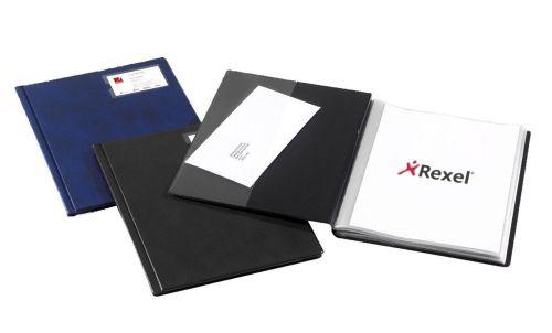 Rx Display Book Slimview36 Pocket A4 BK