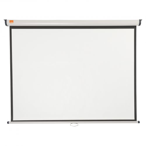 Nobo Wall Mounted 4:3 Projection Screen 1500x1138mm