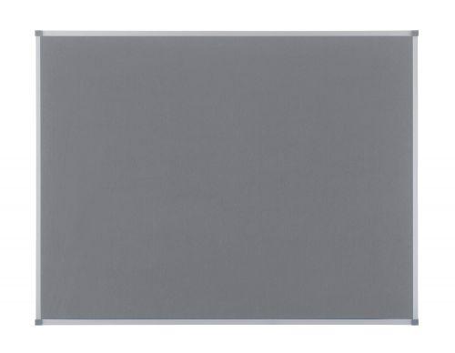 Nobo 1200 x 900mm Classic Felt Noticeboard Grey