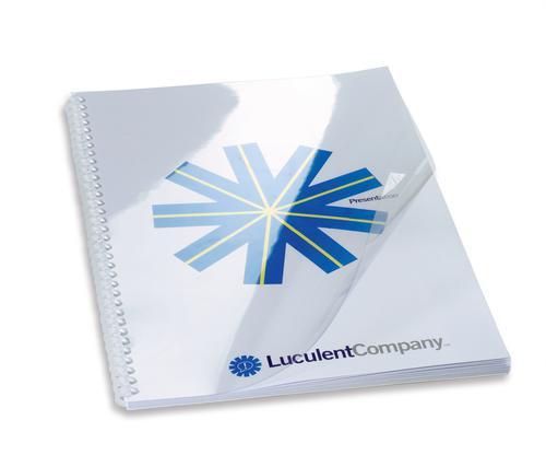 GBC HiClear Report Covers A4 150 micron Clear 41600E (PK50)