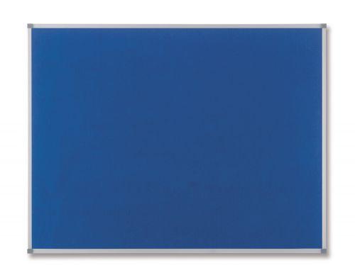 Nobo 1200 x 900mm Classic Felt Notice Board Blue