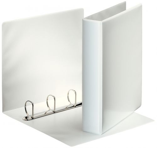Esselte Presentation Ring Binder 4 Ring A4 40mm White 49704