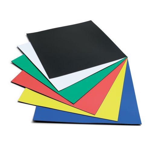Nobo Magnetic Squares Vinyl 150x150mm Assorted Ref 1901104 [Pack 6]