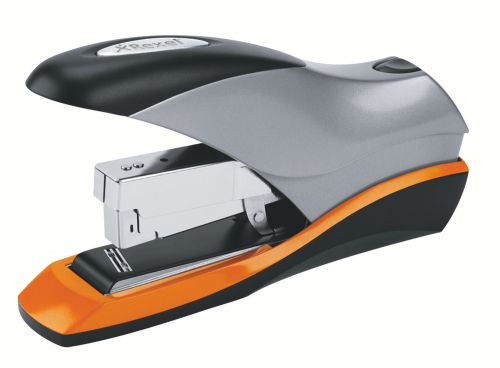 Rexel Optima 70 Heavy Duty Stapler Silver/Black 2102359
