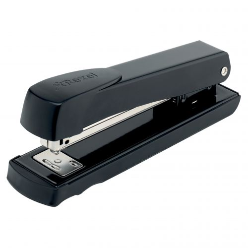 Rexel Aquarius Full Strip Stapler Black 2100016