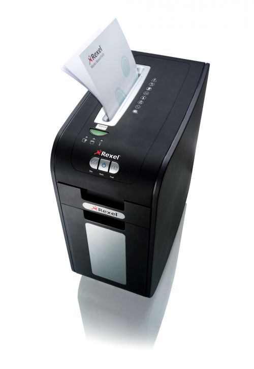 Rexel Mercury RSS2232 Anti-Jam Desk Side Ribbon Cut Shredder 2102463