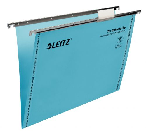 Leitz Ultimate Suspension File Foolscap V Base Blue BX50
