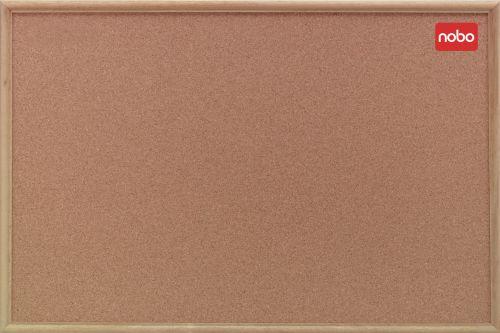 Nobo Classic Cork Noticeboard 1800x1200mm 37639005