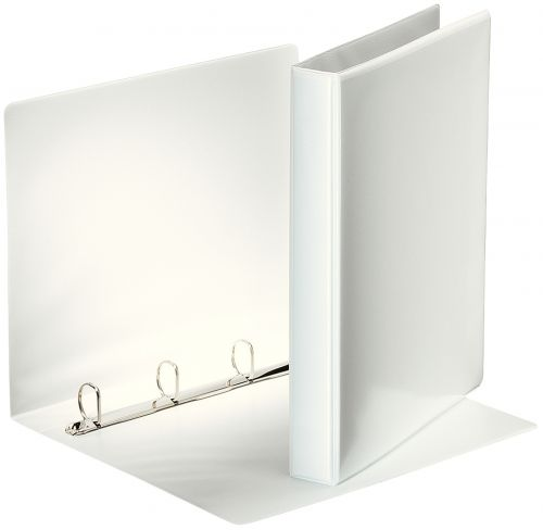 Esselte Presentation Ring Binder 4 Ring A4 25mm White 49702