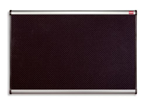 Nobo Prestige Foam Noticeboard 900x1200mm Black QBPF1290
