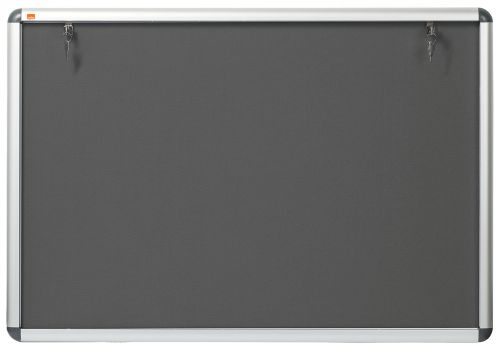Nobo Visual Insert Noticeboard A0 965x1255 Grey
