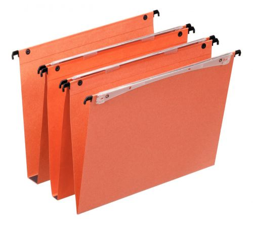 Orgarex Dual Vertical Susp File A4 V Base Orange BX25