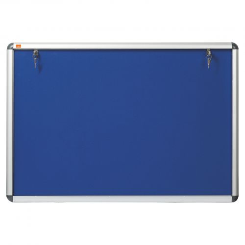 Nobo Visual Insert Noticeboard A1 907x661mm Blue 1902048